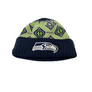 Seattle Seahawks NFL New Era Team Apparel Knit Hat
